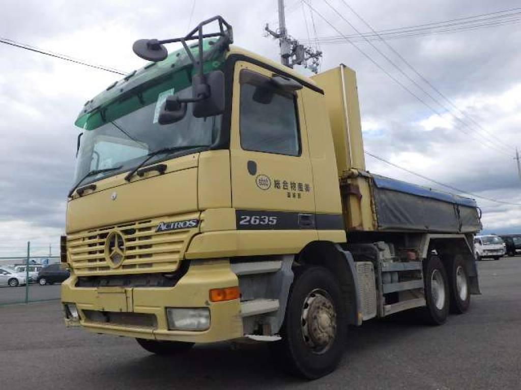 Used 2004  Mercedes Benz ACTROS フメイ Image[1]