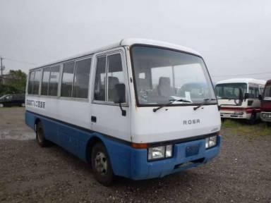 Mitsubishi Fuso Rosa Bus 1989 from Japan