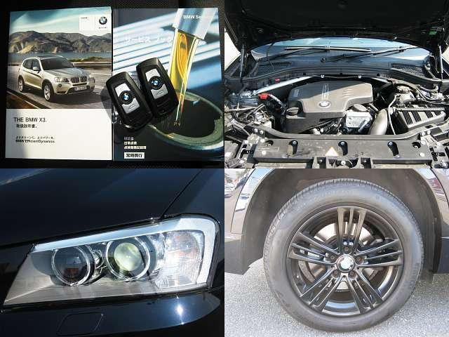 Used 2012 AT BMW X3 DBA-WX20 Image[7]