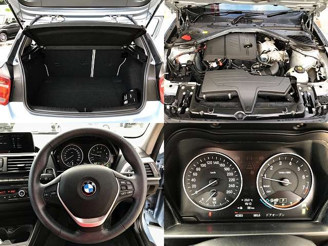 Used 2013 AT BMW 1 Series DBA-1A16 Image[8]