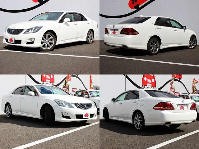 Used 2008 AT Toyota Crown DBA-GRS200 Image[8]