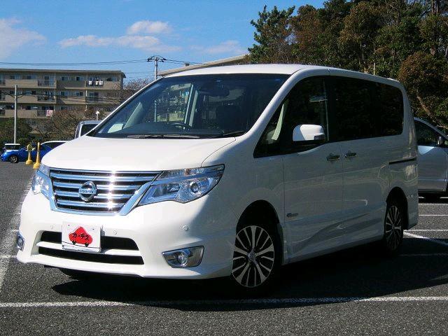 Used 2015 CVT Nissan Serena DAA-HFC26