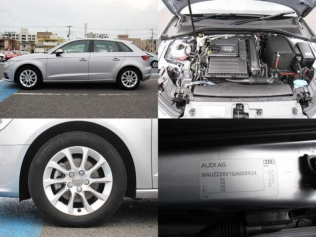 Used 2015 AT Audi A3 DBA-8VCXS Image[8]