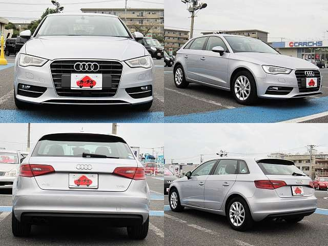 Used 2015 AT Audi A3 DBA-8VCXS Image[9]