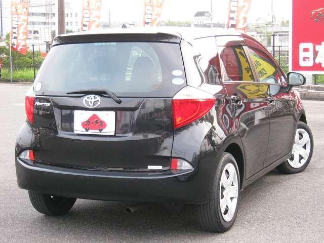 Used 2011 CVT Toyota Ractis DBA-NCP120 Image[2]