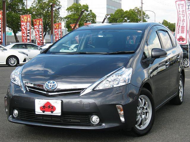Used 2012 CVT Toyota Prius alpha DAA-ZVW41W