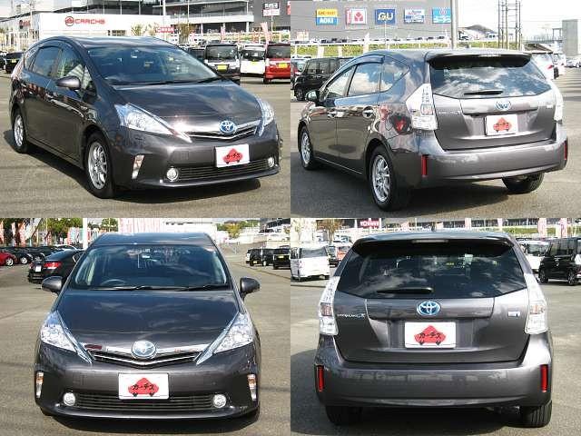 Used 2012 CVT Toyota Prius alpha DAA-ZVW41W Image[8]