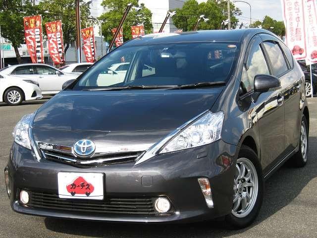 Used 2012 CVT Toyota Prius alpha DAA-ZVW41W Image[9]