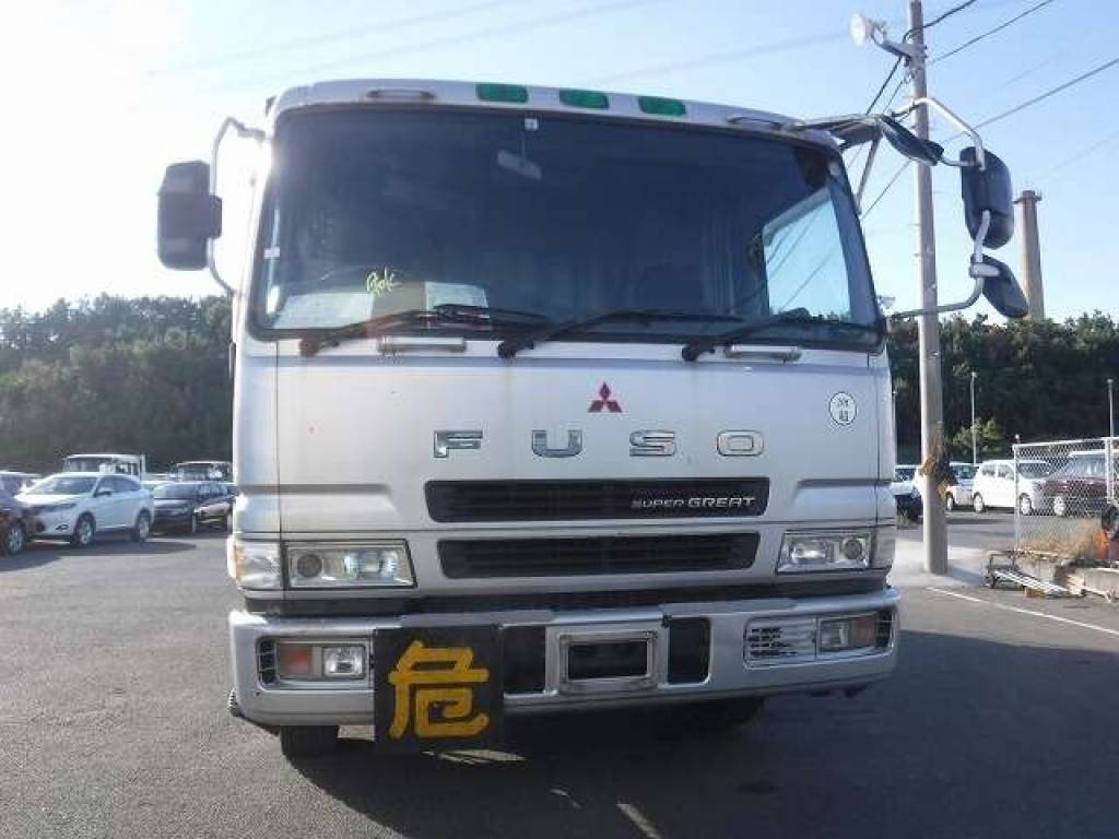 Used 1998 MT Mitsubishi Fuso Super Great KC-FT517NY Image[4]