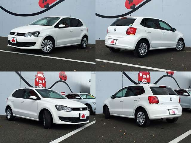Used 2010 AT Volkswagen Polo DBA-6RCBZ Image[8]