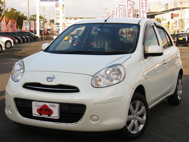 Used 2013 CVT Nissan March DBA-K13