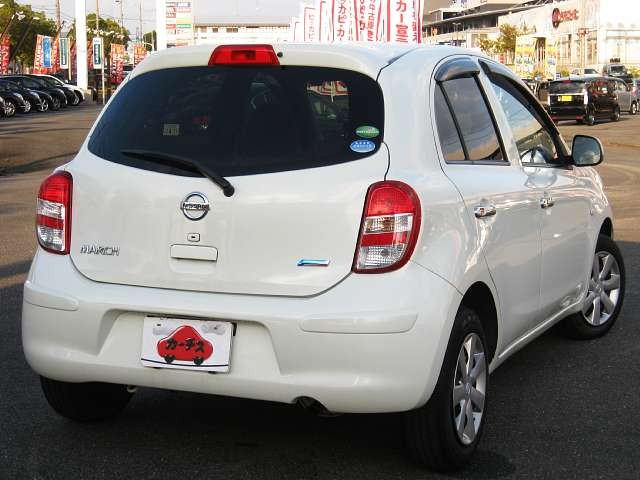 Used 2013 CVT Nissan March DBA-K13 Image[2]