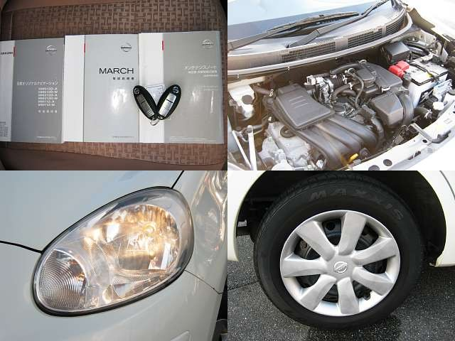 Used 2013 CVT Nissan March DBA-K13 Image[7]