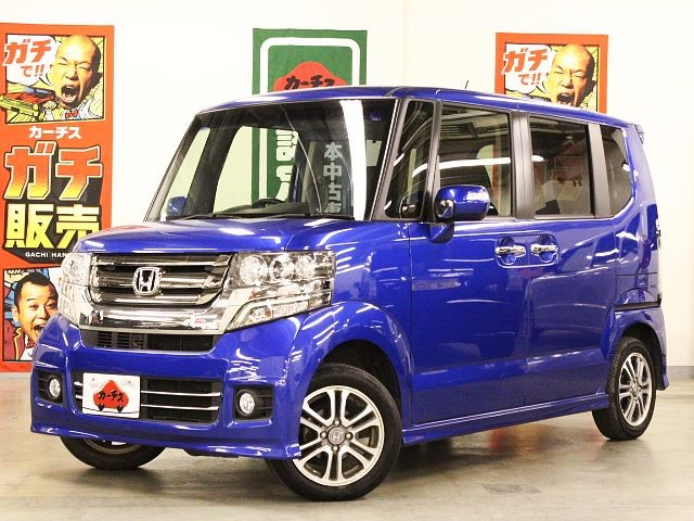 Used 2015 CVT Honda N BOX DBA-JF1