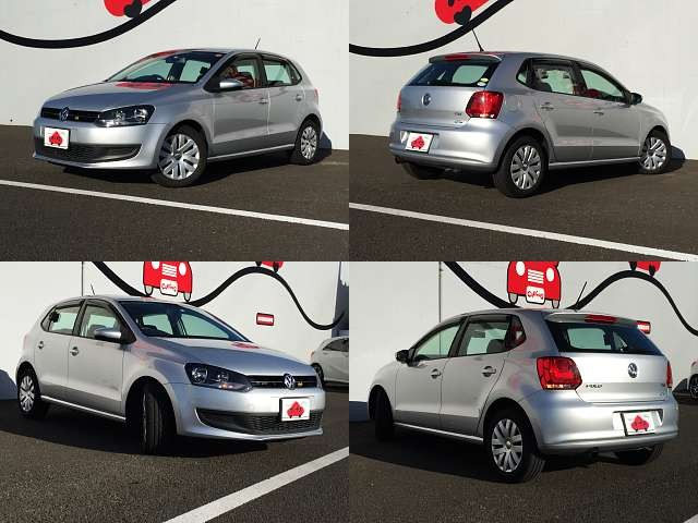 Used 2012 AT Volkswagen Polo DBA-6RCBZ Image[8]