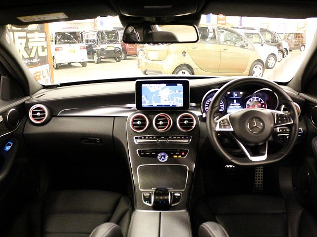Used 2015 AT Mercedes Benz C-Class RBA-205042 Image[1]