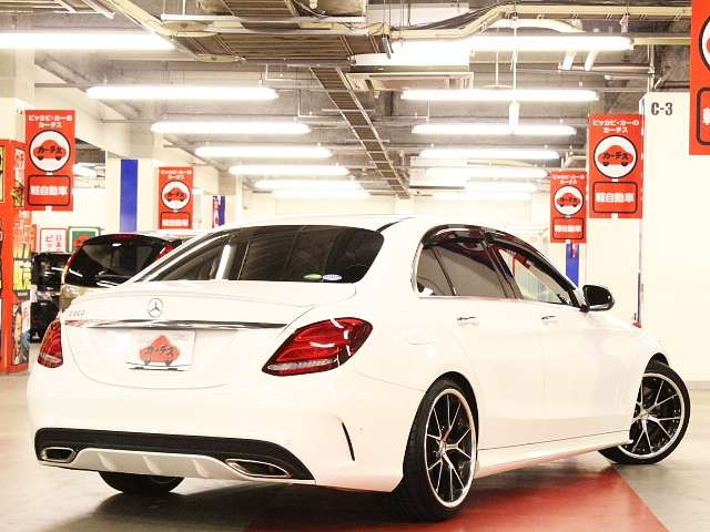 Used 2015 AT Mercedes Benz C-Class RBA-205042 Image[2]