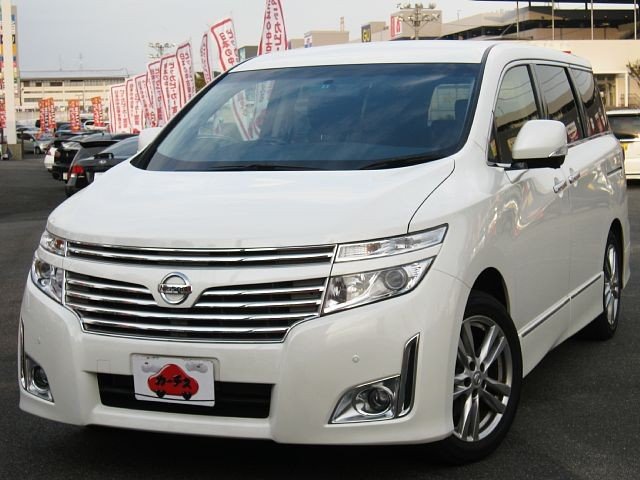 Used 2013 CVT Nissan Elgrand DBA-TE52