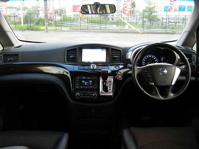 Used 2013 CVT Nissan Elgrand DBA-TE52 Image[1]
