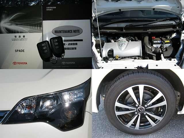 Used 2015 CVT Toyota Spade DBA-NSP141 Image[7]