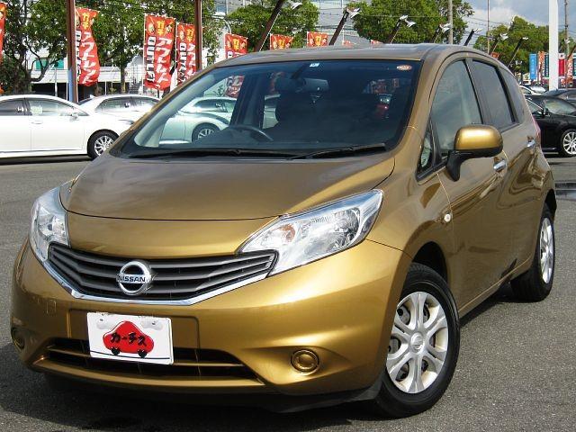 Used 2012 CVT Nissan Note DBA-E12