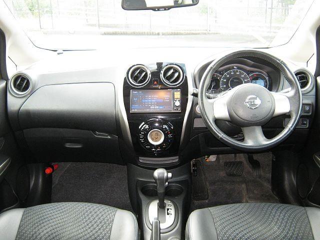 Used 2012 CVT Nissan Note DBA-E12 Image[1]