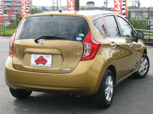 Used 2012 CVT Nissan Note DBA-E12 Image[2]
