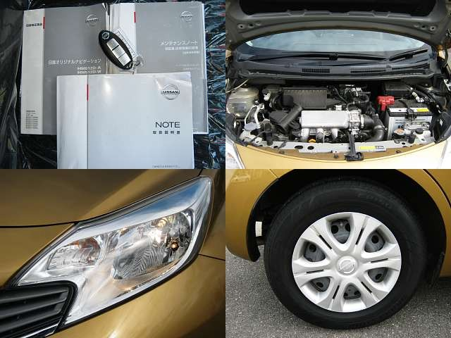 Used 2012 CVT Nissan Note DBA-E12 Image[7]
