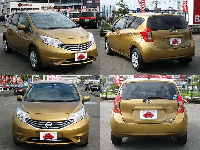 Used 2012 CVT Nissan Note DBA-E12 Image[8]