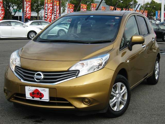 Used 2012 CVT Nissan Note DBA-E12 Image[9]