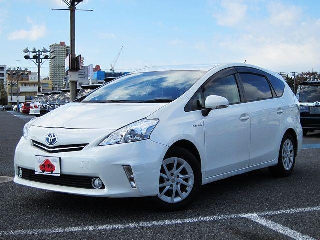 Used 2014 CVT Toyota Prius alpha DAA-ZVW41W