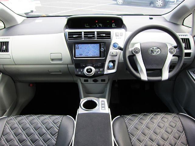 Used 2014 CVT Toyota Prius alpha DAA-ZVW41W Image[1]