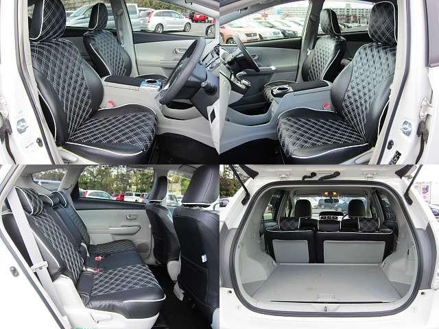 Used 2014 CVT Toyota Prius alpha DAA-ZVW41W Image[6]