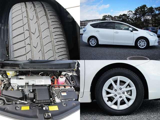 Used 2014 CVT Toyota Prius alpha DAA-ZVW41W Image[8]