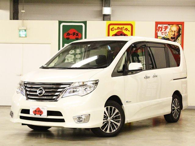 Used 2014 CVT Nissan Serena DAA-HFC26