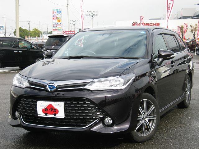 Used 2015 CVT Toyota Corolla Fielder DAA-NKE165G