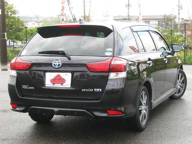Used 2015 CVT Toyota Corolla Fielder DAA-NKE165G Image[2]
