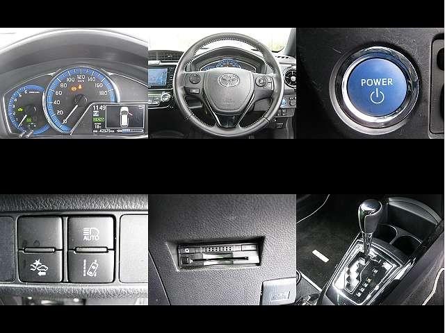 Used 2015 CVT Toyota Corolla Fielder DAA-NKE165G Image[5]