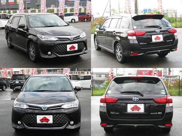 Used 2015 CVT Toyota Corolla Fielder DAA-NKE165G Image[8]