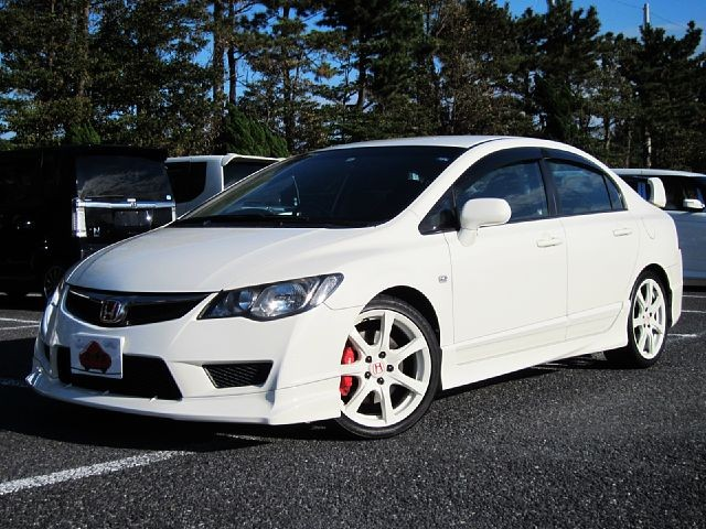 Used 2009 MT Honda Civic ABA-FD2