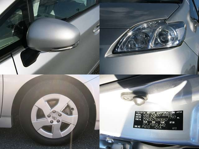 Used 2009 CVT Toyota Prius DAA-ZVW30 Image[6]