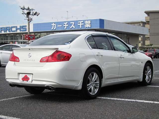 Used 2010 AT Nissan Skyline DBA-V36 Image[2]