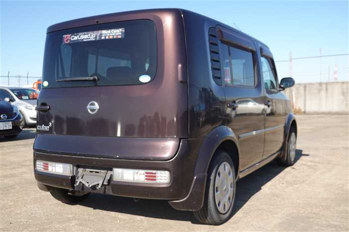 Used 2007 AT Nissan Cube Cubic YGZ11 Image[4]