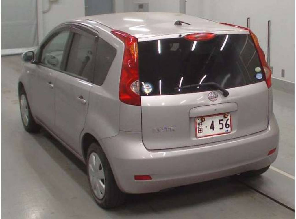Used 2010 AT Nissan Note DBA-E11 Image[1]