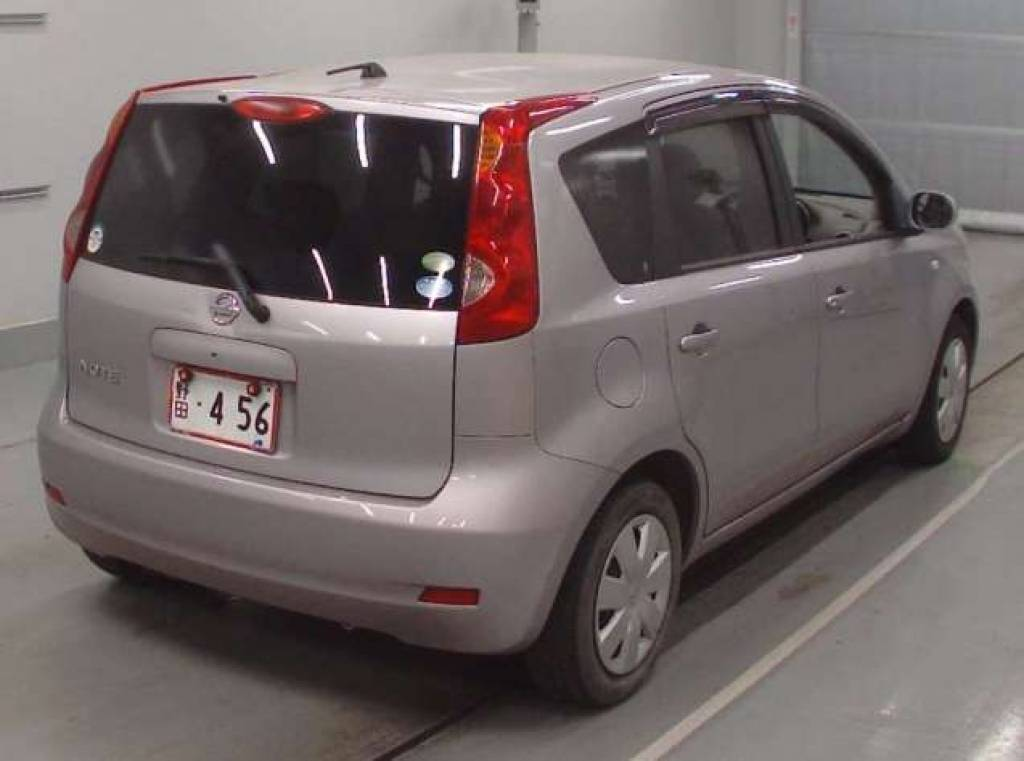 Used 2010 AT Nissan Note DBA-E11 Image[2]