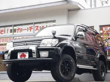 Toyota Land Cruiser Prado 2002 from Japan
